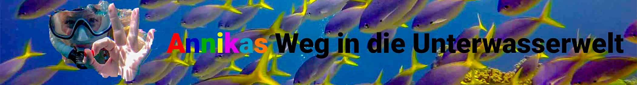 Annikas Weg in die Unterwasserwelt Banner